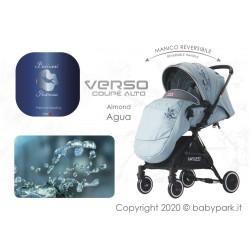VERSO Coupè -ALMOND-Reversible Baby stroller ● BACIUZZI ●