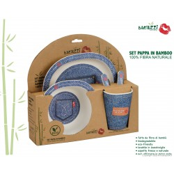 Dinner set 5 pcs JEANS *BACIUZZI* -single set ONLY FOR CONSUMER