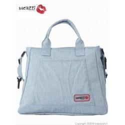 Mama bag  ALMOND AGUA 7230  ● BACIUZZI ●