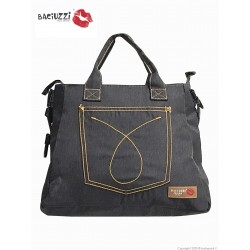 Mama bag   JEANS 501 BLACK ● BACIUZZI ● (7230)