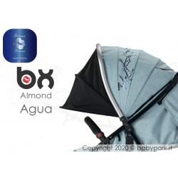 BX ALMOND AGUA  passeggino super leggero, chiusura Lampo, traspirante full optional, Baciuzzi