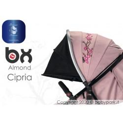 BX ALMOND CIPRIA  passeggino super leggero, chiusura Lampo, traspirante full optional, Baciuzzi