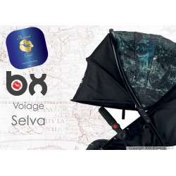 BX VOIAGE SELVA,  lightweight stroller, flash folding , breathable full optional, Baciuzzi