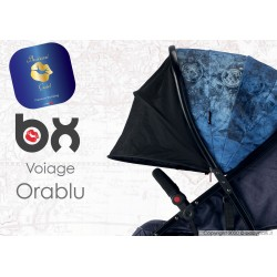 BX VOIAGE ORABLU, lightweight stroller, flash folding , breathable full optional, Baciuzzi