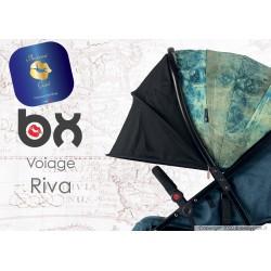 BX VOIAGE RIVA, passeggino super leggero, chiusura Lampo, traspirante full optional, Baciuzzi