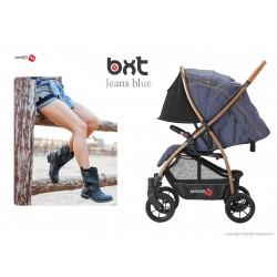 BXT JEANS ruote grandi - passeggino leggero, chiusura Lampo, traspirante full optional, Baciuzzi
