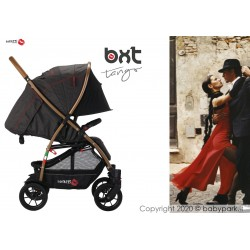 BXT TANGO embroied - WITH BIG WHEELS lightweight stroller, flash folding , breathable full optional, Baciuzzi
