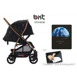 BXT UNIVERSE ruote grandi - disegnato a mano - passeggino leggero, chiusura Lampo, traspirante full optional, Baciuzzi