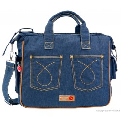Mama bag TRAVEL  Jeans 501 BACIUZZI