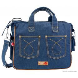 Mama bag TRAVEL  Jeans 501 BACIUZZI