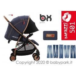 BX Jeans lightweight stroller, Lightning closing , breathable full optional