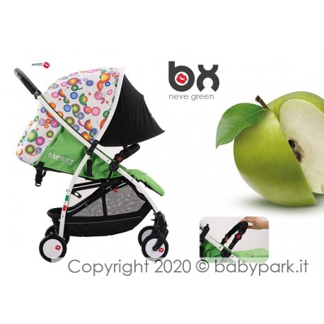 BX Neve lightweight stroller, Lightning closing , breathable full optional