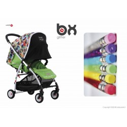 BX Glitter lightweight stroller, flash folding , breathable full optional, Baciuzzi