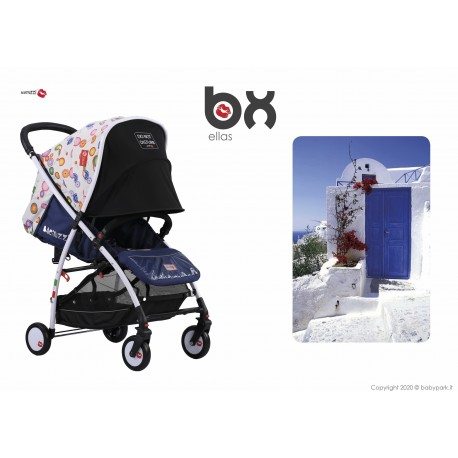 BX Ellas lightweight stroller, flash folding , breathable full optional, Baciuzzi