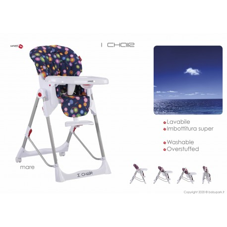 Hig chair I Chair Mare ● BACIUZZI ●