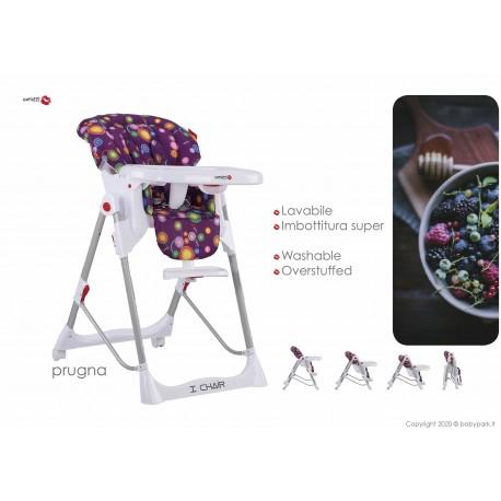 Hig chair I Chair Prugna ● BACIUZZI ●