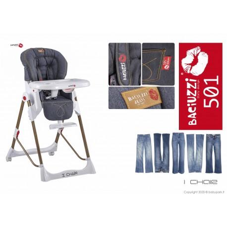 Seggiolone I Chair 50 Jeans ● BACIUZZI ●
