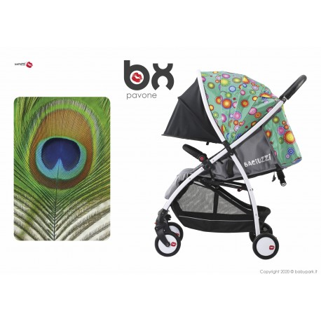 BX Pavone lightweight stroller, flash folding , breathable full optional, Baciuzzi