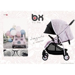 BX Frà-Pink lightweight stroller, flash folding , breathable full optional, Baciuzzi