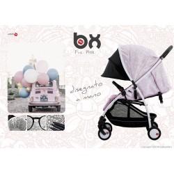 BX Frà-Pink lightweight stroller, flash folding , breathable full optional, Baciuzzi