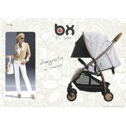BX Frà-Gold lightweight stroller, flash folding , breathable full optional, Baciuzzi