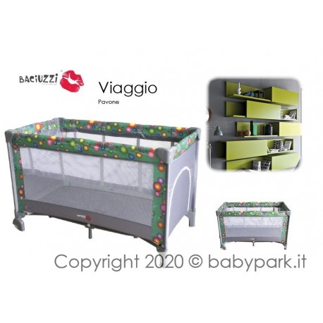 Playard adjustable in height, Pavone
