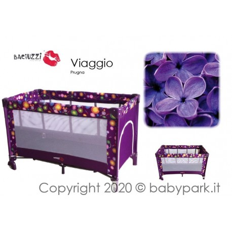 Playard adjustable in height, Prugna