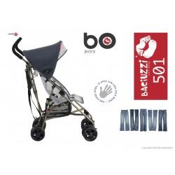 B0 Tourist stroller, Jeans, exrtalight, Baciuzzi
