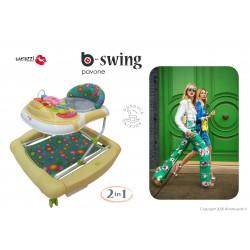 BABY WALKER BACIUZZI B-SWING - PAVONE
