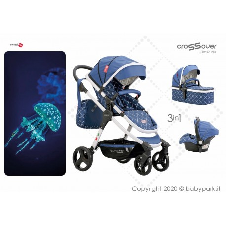 BX Mare lightweight stroller, flash folding , breathable full optional, Baciuzzi