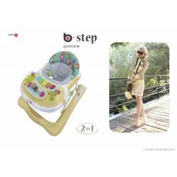 BABY WALKER BACIUZZI B-STEP - PAVONE