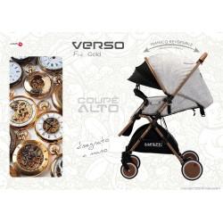 VERSO Coupè -FRA GOLD-Reversible Baby stroller ● BACIUZZI ●
