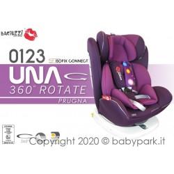 CAR SEAT 0-36 kg UNA - PRUGNA ● BACIUZZI ●