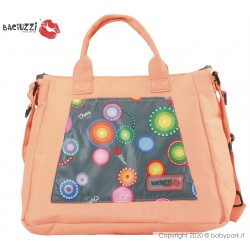 Mama bag  Fumo/Orange 7230  ● BACIUZZI ●