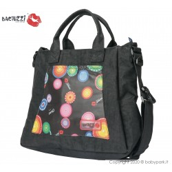 Mama bag  Jaguar/Black 7230  ● BACIUZZI ●