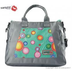 Mama bag Pavone/Gray 7230  ● BACIUZZI ●