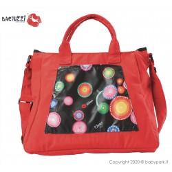 Mama bag Jaguar/Red 7230  ● BACIUZZI ●