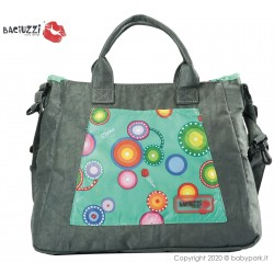 Mama bag Pavone/Brown 7230  ● BACIUZZI ●