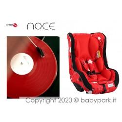 Poltrona auto Traspirante NOCE ● BACIUZZI ● Star Red