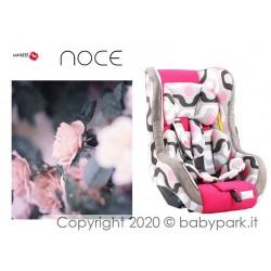 Poltrona auto Traspirante NOCE ● BACIUZZI ● Half Pink