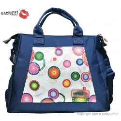 Mama bag Neve/Blue 7230  ● BACIUZZI ●