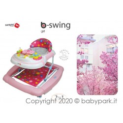 BABY WALKER BACIUZZI B-SWING - GIRL