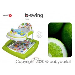 BABY WALKER BACIUZZI B-SWING - NEVE